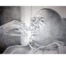 John Coltrane - Deep Thought Photographic Print