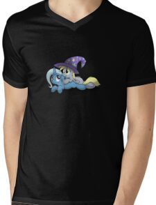 Derpy and Trixie Shirt Mens V-Neck T-Shirt
