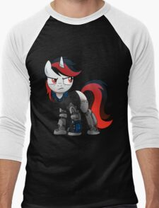 Determined Blackjack T-shirt (from the Project Horizons fanfic) Men's Baseball ¾ T-Shirt