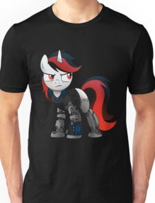 Determined Blackjack T-shirt (from the Project Horizons fanfic) Unisex T-Shirt