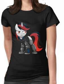 Determined Blackjack T-shirt (from the Project Horizons fanfic) Womens Fitted T-Shirt