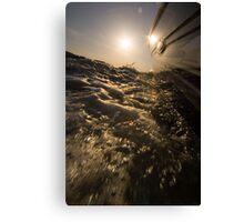 fun sun and water Canvas Print