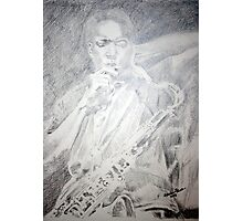 John Coltrane  - Inner Reflection Photographic Print