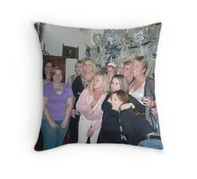 New Years Eve With The Girls Throw Pillow