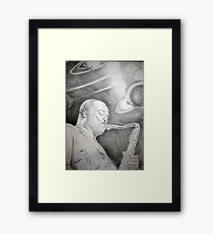 Planetary Alignment - James Carter  Framed Print