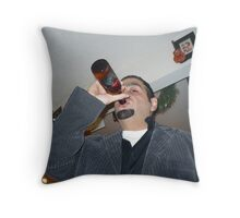 Beer For New Years! Throw Pillow