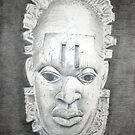 Oba Mask - Centered by Charles Ezra Ferrell