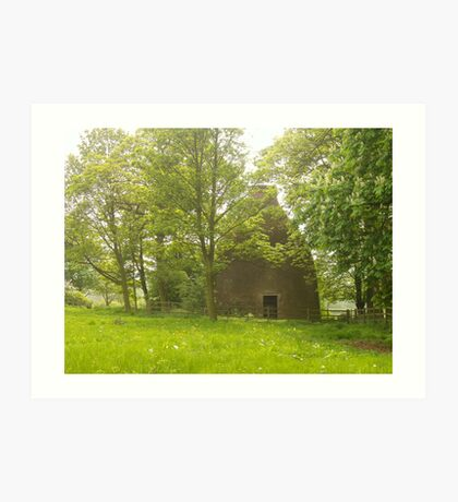 Waterloo Pottery Kiln Art Print