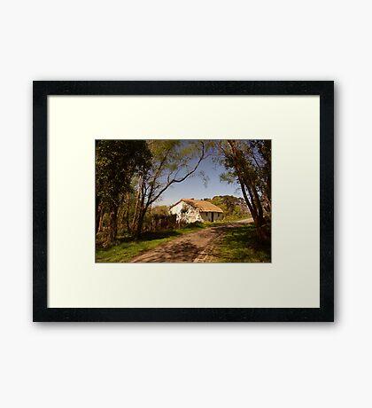 dream home ... Framed Print