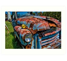 Rusted GMC Art Print