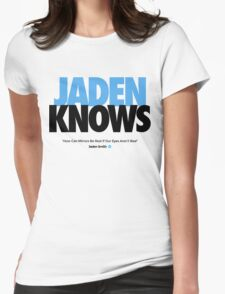 JADEN KNOWS Womens Fitted T-Shirt