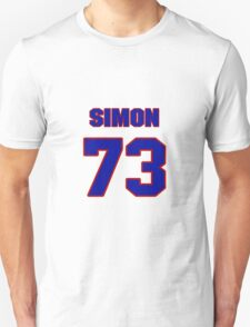 National football player Simon Fletcher jersey 73 T-Shirt