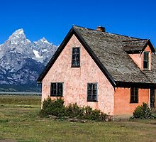 House in Mormon Row by Charles Kosina