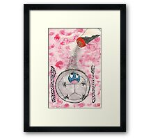 Please don't eat me!!! Framed Print