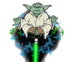 Yoda Yoga by Skree