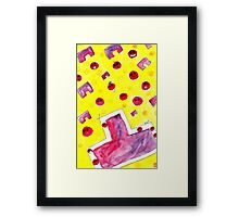 Ao Tu tomato! Framed Print