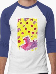 Ao Tu tomato! Men's Baseball ¾ T-Shirt