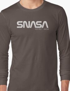 SNASA (Secret NASA Typography) T-Shirt