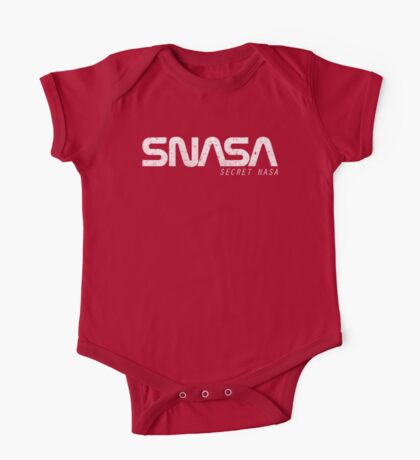 SNASA (Secret NASA Typography) One Piece - Short Sleeve