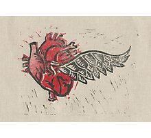 As the heart flies Photographic Print