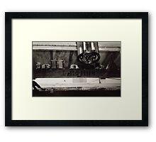 Inside Adam Hats Deep Ellum Framed Print