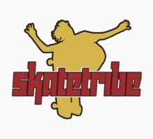 Skatetribe -  Bluntslide - Marone Yellow by reflector