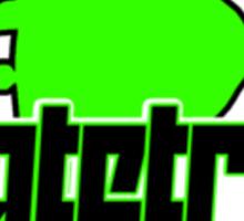 Skatetribe - Bluntslide - Black Green Sticker