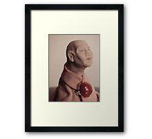 Thumbsize Monk Framed Print