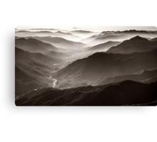Sequoia National Park Mountains Canvas Print