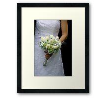May Bride Framed Print