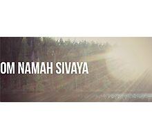 Om Namah Sivaya Photographic Print