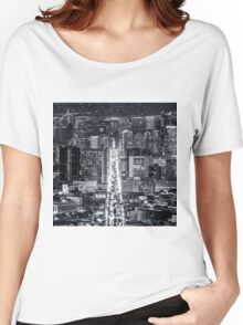 San Francisco Downtown Women's Relaxed Fit T-Shirt