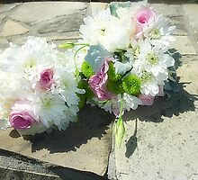 *Bridesmaid's Bouquets - Grandson's wedding at Torquay, Vic. by EdsMum