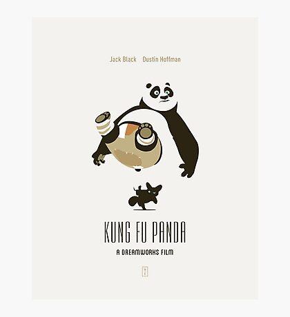Kung Fu Panda Photographic Print