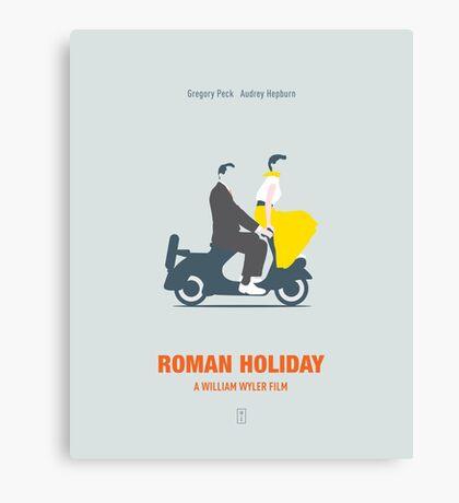 Roman Hoilday Canvas Print