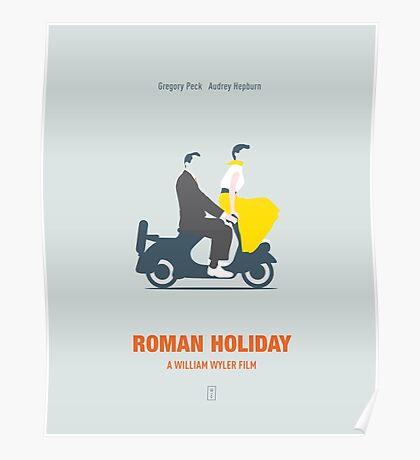 Roman Hoilday Poster