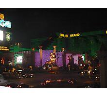 MGM Grand Photographic Print