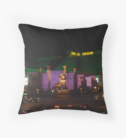 MGM Grand Throw Pillow