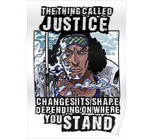 Aokiji One Piece Poster
