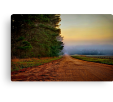 """Blackgate Road"" Canvas Print"