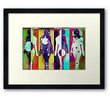 Body Language 25 Framed Print
