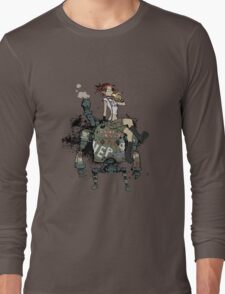 Banana Robot Long Sleeve T-Shirt