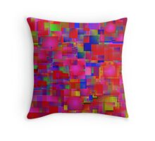 Red Kitchen Throw Pillow