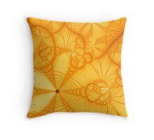 Citrus Echo Throw Pillow