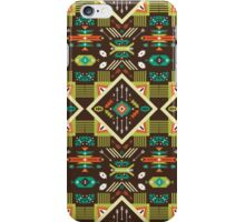 Navajo seamless colorful tribal pattern iPhone Case/Skin