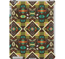 Navajo seamless colorful tribal pattern iPad Case/Skin