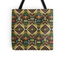 Navajo seamless colorful tribal pattern Tote Bag