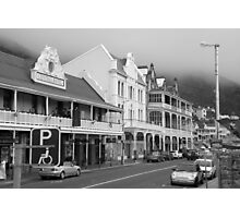 Victorian Hotels, Main Road, Simonstown Photographic Print