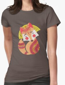The Little Wolf Womens Fitted T-Shirt
