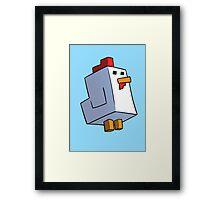 The Pixel Chicken Framed Print